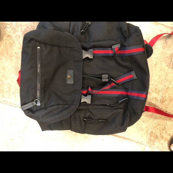 4339b77bfdbe Gucci Bags | Used Techno Canvas Backpack | Poshmark
